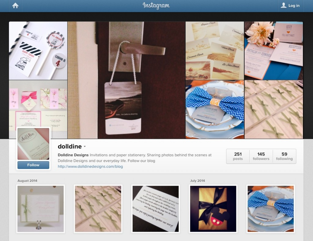 dolldine designs instagram