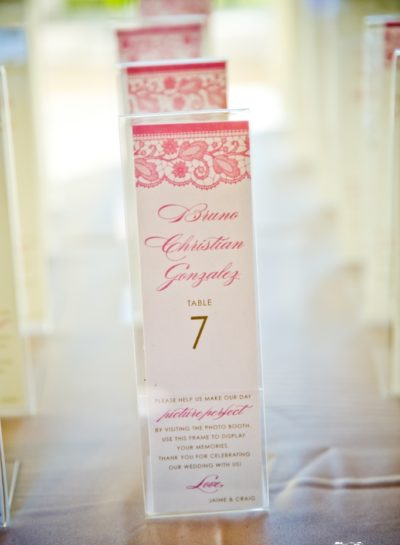 Photo booth Place Cards
