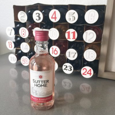 Wine Advent Calendar DIY